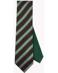 Tommy Hilfiger - Stripe Silk Tie - Lyst