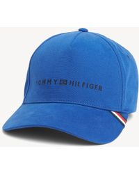 65d1a8a1 Tommy Hilfiger Tropical Print Cap in Blue for Men - Lyst