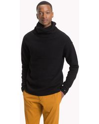 Tommy Hilfiger - Lambswool Blend High Neck Jumper - Lyst
