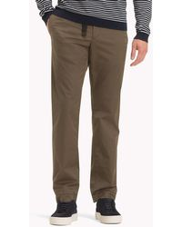 Tommy Hilfiger - D-ring Buckle Chinos - Lyst