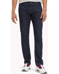Tommy Hilfiger - Organic Cotton Slim Fit Selvedge Jeans - Lyst