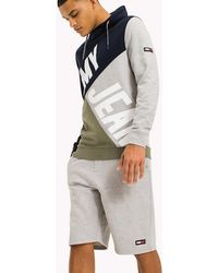 Tommy Hilfiger - Colour-blocked Funnel Neck Hoodie - Lyst