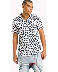 Tommy Hilfiger - Animal Print Relaxed Fit Shirt - Lyst