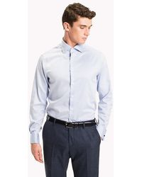 Tommy Hilfiger - Fitted Double Cuff Shirt - Lyst