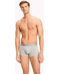 Tommy Hilfiger - Cotton Low Rise Trunk 3 Pack - Lyst