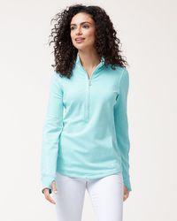 Tommy Bahama - Jen & Terry Half-zip Sweatshirt - Lyst