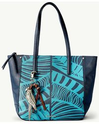 Tommy Bahama - Drake Bay Leather Tote - Lyst