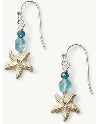 Tommy Bahama - Silver Starfish Earrings - Lyst