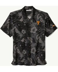 f6f3dddb3 Tommy Bahama Collegiate Luau Floral Camp Shirt in Black for Men - Lyst