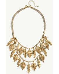 Tommy Bahama - Golden Feather Cord Necklace - Lyst