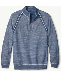 Tommy Bahama - Sandy Bay Reversible Half-zip Sweater - Lyst