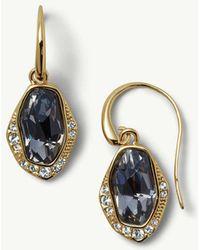 Tommy Bahama - Swarovski® Crystal Pavé Drop Earrings - Lyst