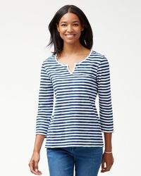 Tommy Bahama - Viento Waves Henley - Lyst
