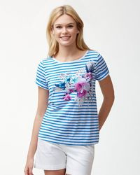 Tommy Bahama - Florencia Stripe T-shirt - Lyst