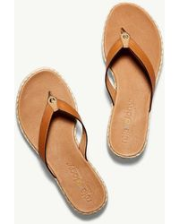 Tommy Bahama - Relaxology® Ionna Leather Flip Flops - Lyst