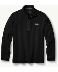 Tommy Bahama - Big & Tall Collegiate Ben & Terry Coast Half-zip Sweatshirt - Lyst