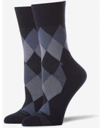 Tommy John - Argyle Stay Up Dress Sock - Lyst