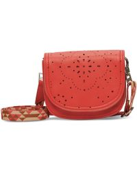 TOMS - Chili Patterned Perf Jetset Hip Pack - Lyst