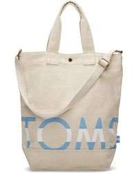 TOMS - Natural Compass Tote - Lyst