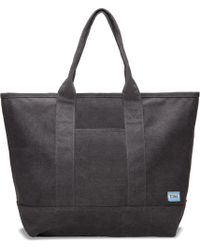 TOMS - Slate Canvas Tote - Lyst