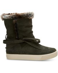 TOMS - Forest Suede Women's Vista Boots - Lyst