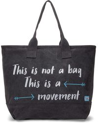 TOMS | Slate This Is Not A Bag This Is A Movement All Day Tote | Lyst