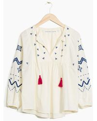 TOMS - & Other Stories Embroidered Blouse - Lyst