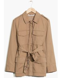 TOMS - & Other Stories Military Jacket - Lyst