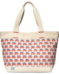 TOMS - Election Elephants Canvas Transport Tote - Lyst
