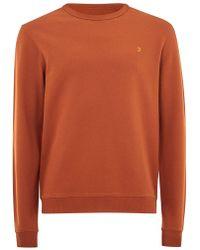TOPMAN - Farah Stone 'pickwell' Sweatshirt - Lyst