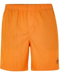 TOPMAN - Element Orange Swim Short - Lyst