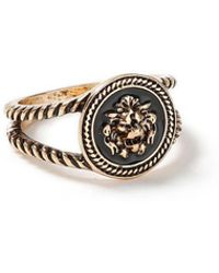TOPMAN - Lion Head Ring - Lyst