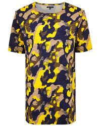 TOPMAN - Punk Royal Camouflage T-shirt - Lyst