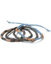 TOPMAN - Beaded Bracelet Pack - Lyst