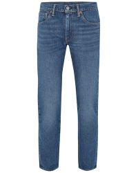 TOPMAN - Levi's 511 Blue Slim Jean - Lyst