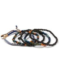 TOPMAN - Multipack Beaded Bracelets - Lyst