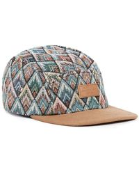 Globe - Multicoloured Woven 5 Panel Cap* - Lyst