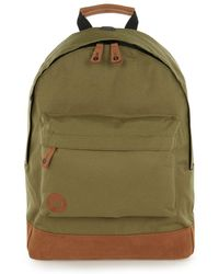 TOPMAN - Mi-pac Khaki Base Backpack* - Lyst
