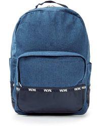 WOOD WOOD - Wood Wood Blue Denim Ryan Backpack - Lyst
