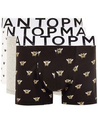 TOPMAN - Bumble Bee Trunks 3 Pack - Lyst