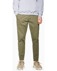 TOPMAN - Relaxed Tapered Trouser - Lyst