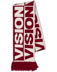 TOPMAN - Vision Street Wear Red And White Football Scarf - Lyst