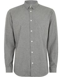 Topman | Selected Homme Grey Shirt | Lyst