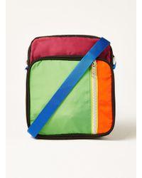 TOPMAN - Multicoloured Cross Body Pouch - Lyst