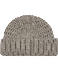 6c48f067d82 Lyst - Topman Felted Wool Hat in Natural for Men