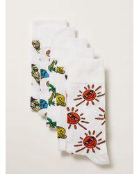 TOPMAN - Ummer Socks 5 Pack - Lyst
