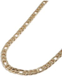 TOPMAN - Gold Chain Necklace - Lyst