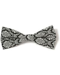 TOPMAN - Patterned Bow Tie - Lyst