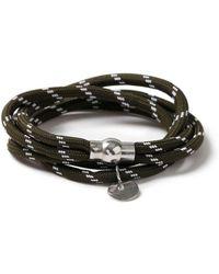 TOPMAN - Green Abseil Bracelet - Lyst