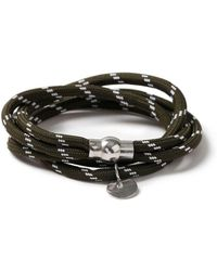 Topman   Green Abseil Bracelet   Lyst